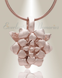 Rose Gold Roses  Cremation Jewelry