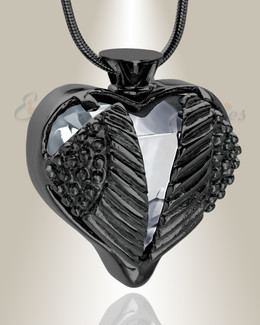 Clear Eternal Flight Cremation Jewelry