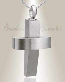 Trendy Cross Keepsake Urn Jewelry