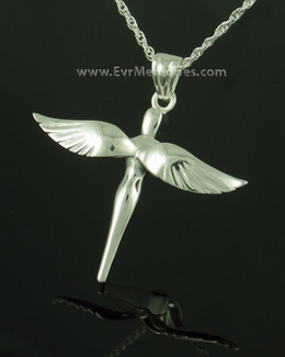 Sterling Silver Sparrow Funeral Jewelry