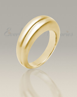 Men's 14K Gold Gentleman's Ashes Ring