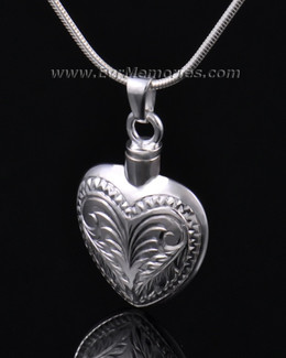 Sterling Silver Darling Heart Urn Necklace