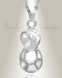 Silver Everlasting Companion Infinity Jewelry Urn