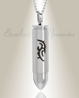 357 Magnum Tribal Bullet Cremation Keepsake