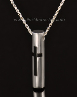 14K White Gold Providence Urn Necklace