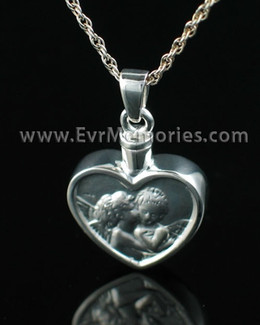 Sterling Silver True Love Urn Necklace