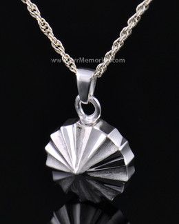 Sterling Silver Pinwheel Cremation Keepsake