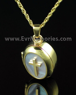 14K Plated Sanctity Memorial Locket