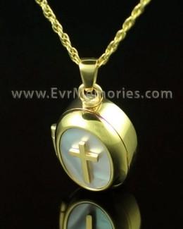 14K Gold Sanctity Jewelry Urn