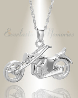 Sterling Silver Cruisin Cremation Keepsake