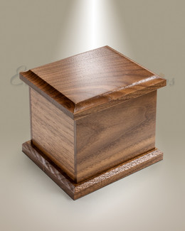 Walnut Keepsake Cremation Urn