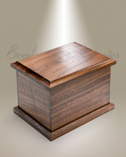Medium Walnut Cremation Urn