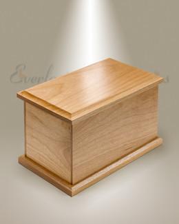 Large Alder Cremation Urn