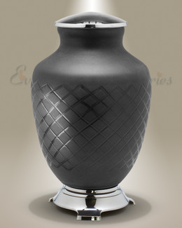 Baroque Glass Cremation Urn