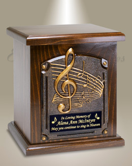 Music Lovers Cremation Urn