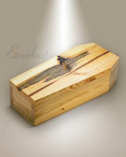 Knotty Pine Casket Cremation Urn