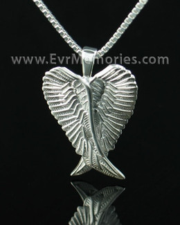 Sterling Silver Angelic Jewelry Urn