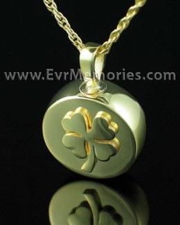 Gold Plated Blessed Cremation Charm