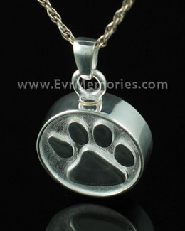 Sterling Silver Pawful Cremains Locket