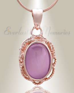 Rose Gold Sunset Cremation Jewelry-evr6478rg