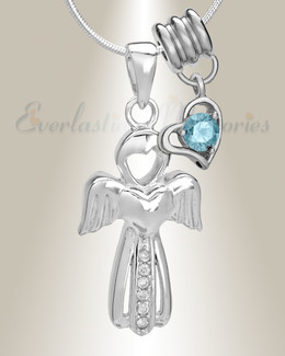 March Virtuous Angel Memorial Jewelry