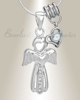 April Virtuous Angel Memorial Jewelry