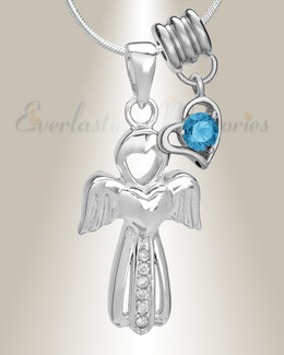 December Virtuous Angel Memorial Jewelry