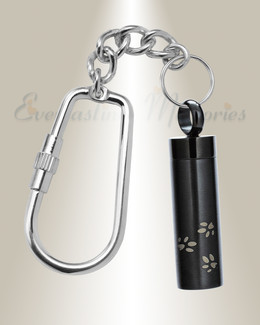 Black Plated Takin a Walk Keychain