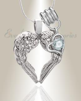 April Wings Of Hope Memorial Jewelry