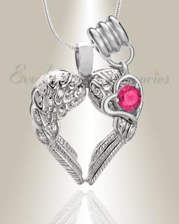 October Wings of Hope Memorial Jewelry
