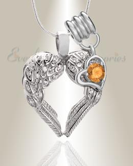 November Wings of Hope Memorial Jewelry