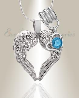 December Wings Of Hope Memorial Jewelry