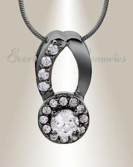 Black Simplicity Memorial Jewelry