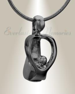 Black Free Spirits Memorial Jewelry