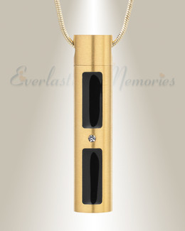 Forever Collection Gold Plated Tenderness Cremation Necklace