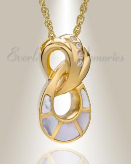 14K Gold Everlasting Infinity Keepsake