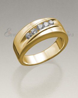 Men's 14K Gold Wondrous Memorial Ring