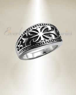 Men's Silver Highness Memorial Ring