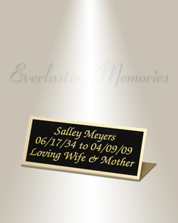 Serpens Easel Engraved Plate