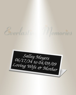 Scorpius Easel Engraved Plate