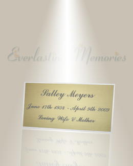 Large Norma Engraved Plate