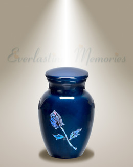 Midnight Rose Keepsake Urn