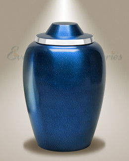 Blue Whispers Cremation Urn