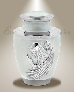 In Prayer Cremation Urn