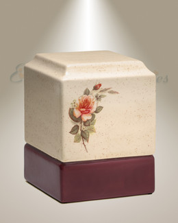Garden of Roses Cremation Urn