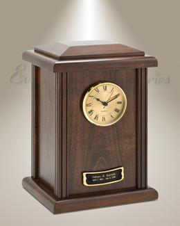 Copper Tower Clock Cremation Urn