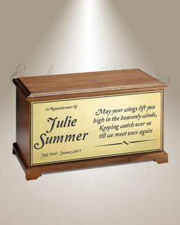 Wings Of Love Cremation Urn