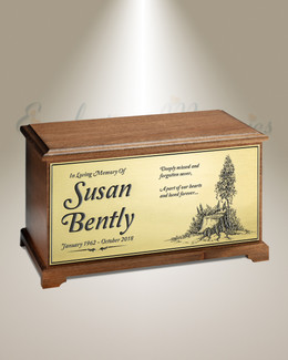 Mountaintop Cremation Urn