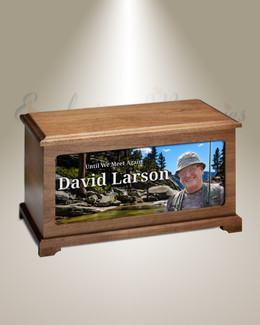 Mountain Creek Photo Urn For Ashes