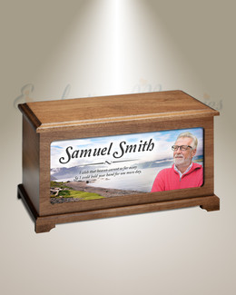 Harbor Cremation Urn With Photo